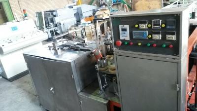 فن یاب،دستگاه تولید ظروف یکبارمصرفدستگاه تولید لیوان کاغذی دست دوم1