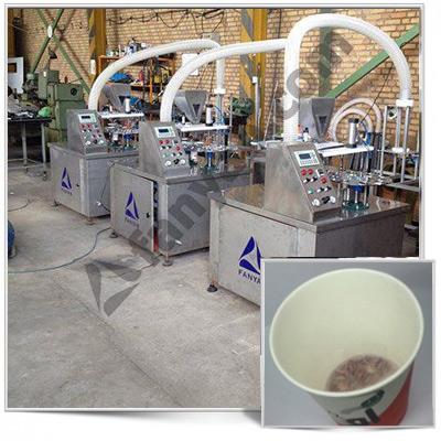 دستگاه تولید لیوان چای دار دستیدستگاه لیوان چای دار